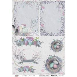 Дизайнерска хартия, топери гнезда