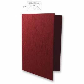 Японска хартия, основа за картичка, червено вино