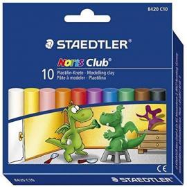 Пластилин 10 цвята