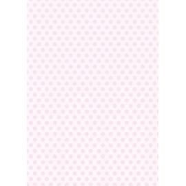 Дизайнерска хартия, А4 - Средни точки, розово 2