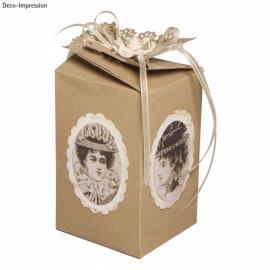 Шаблон за кутийка - подарък