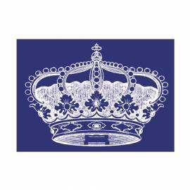 Шаблон за текстил-корона
