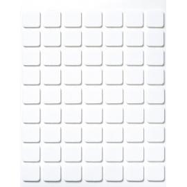 3Д квадратчета, 2мм, заоблени