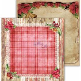 Дизайнерска хартия, 12x12 - Festive Bells 05