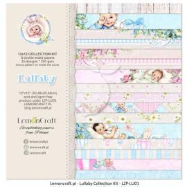 Дизайнерска хартия, блокче 12х12 - Lullaby 1