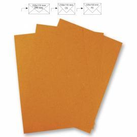 Японска хартия, А4 оранжево