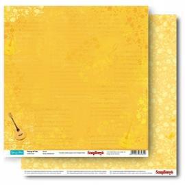 Дизайнерска хартия, лист Млади и безгрижни